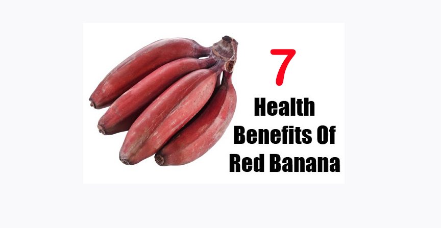 Red bananas for better health benefits 2021